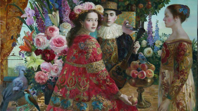 Hyperrealistic Oil Paintings of Women in Sheets Celebrate
