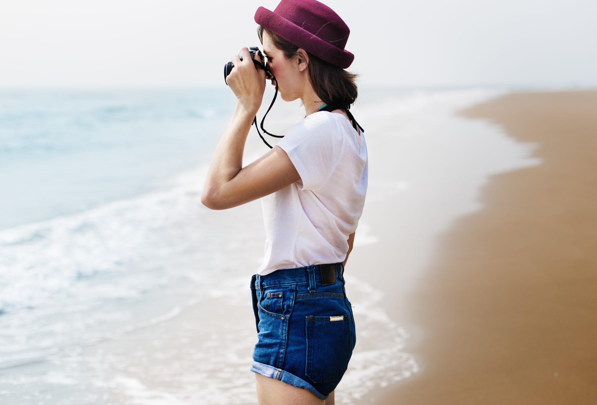 beach summer holiday vacation traveling photograph PQG8B3W