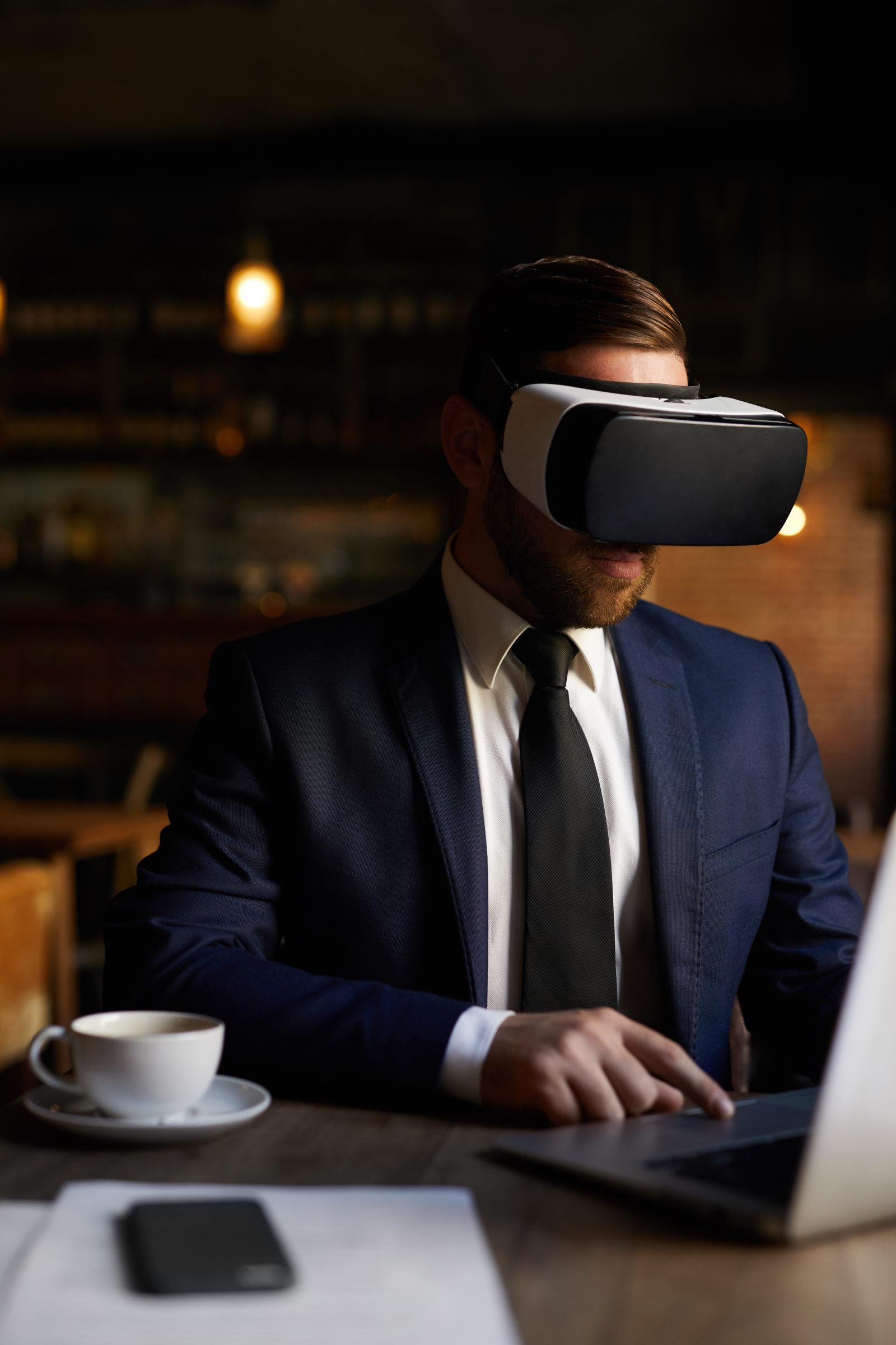 business virtual reality REY63SF