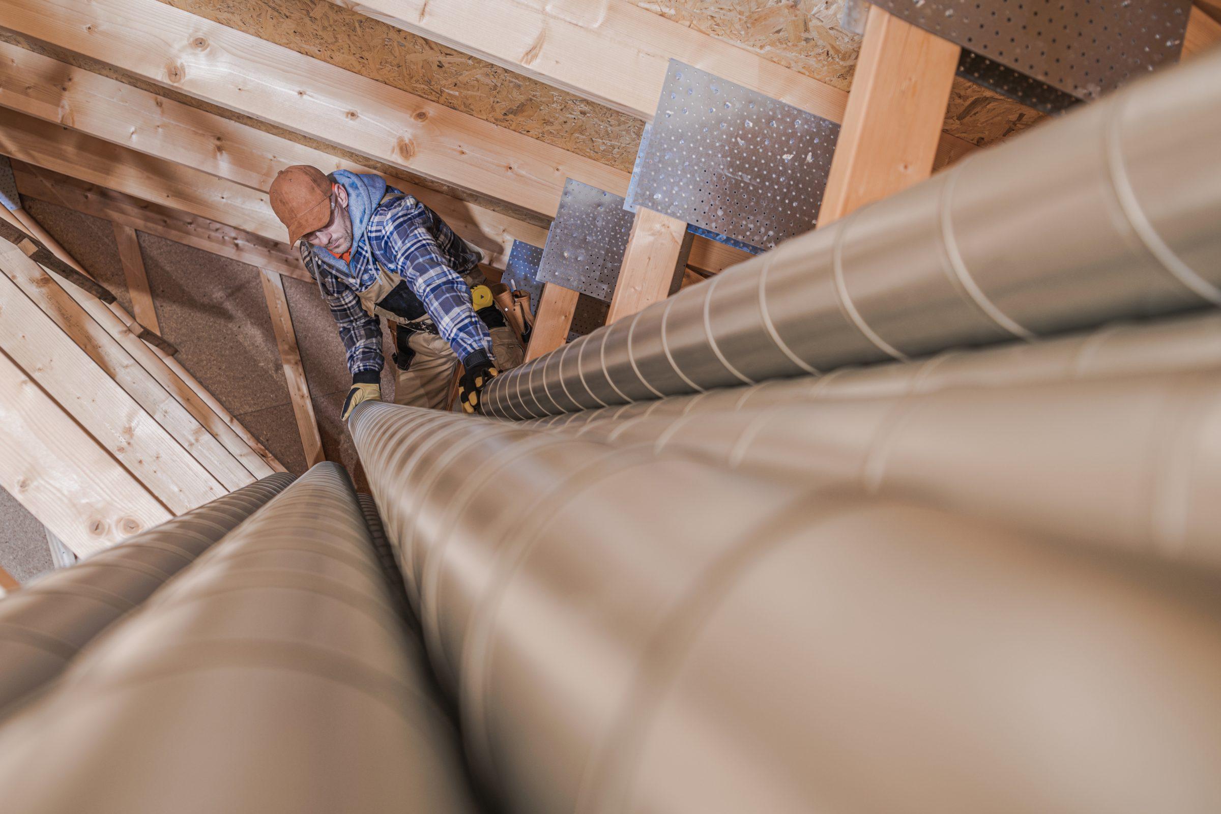 air vent pipes preparation QV2SB57