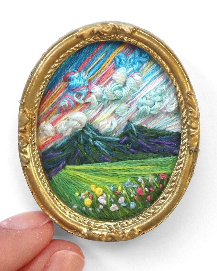 landscape embroidery art caroline torres 14
