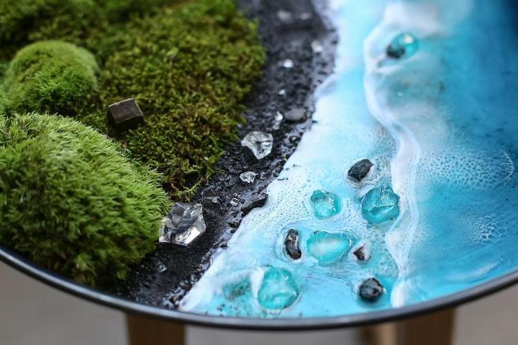 moss resin wall art 8