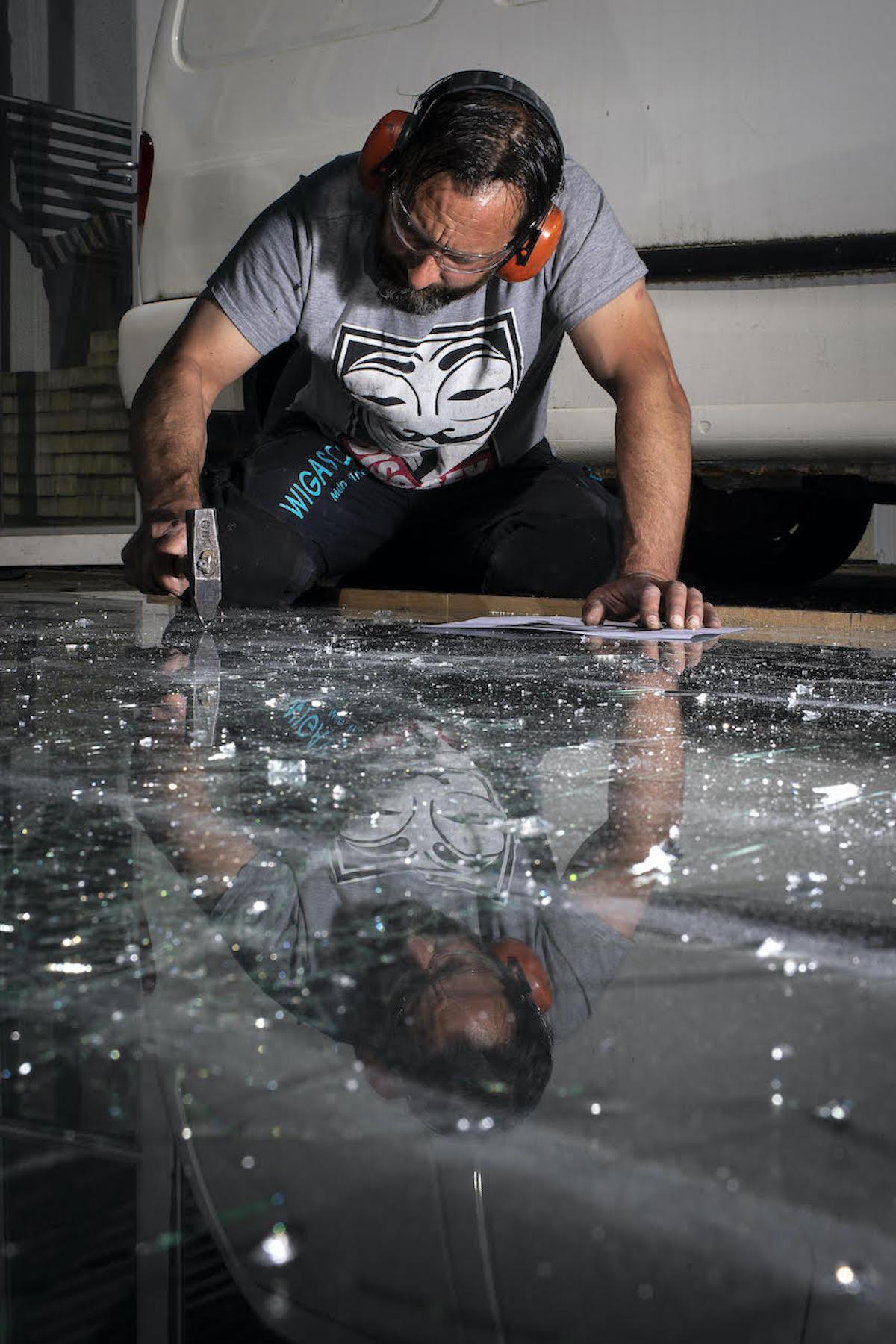 simon berger shattered glass art 4