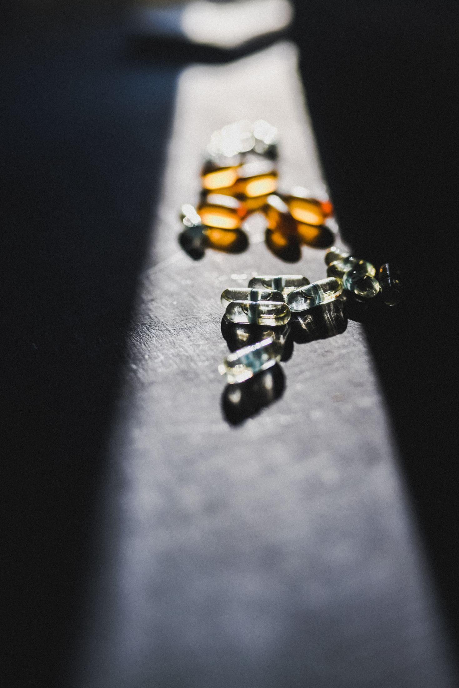 black and yellow beaded bracelet