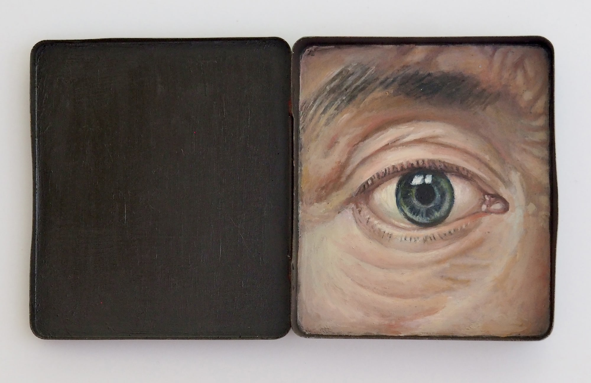 Robyn Rich. Christian. Inspired by a self portrait by Christian Seybold