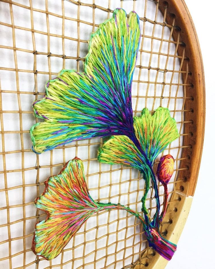 danielle clough embroidery racket 17
