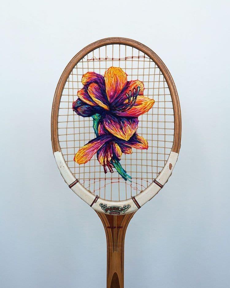 danielle clough embroidery racket 19