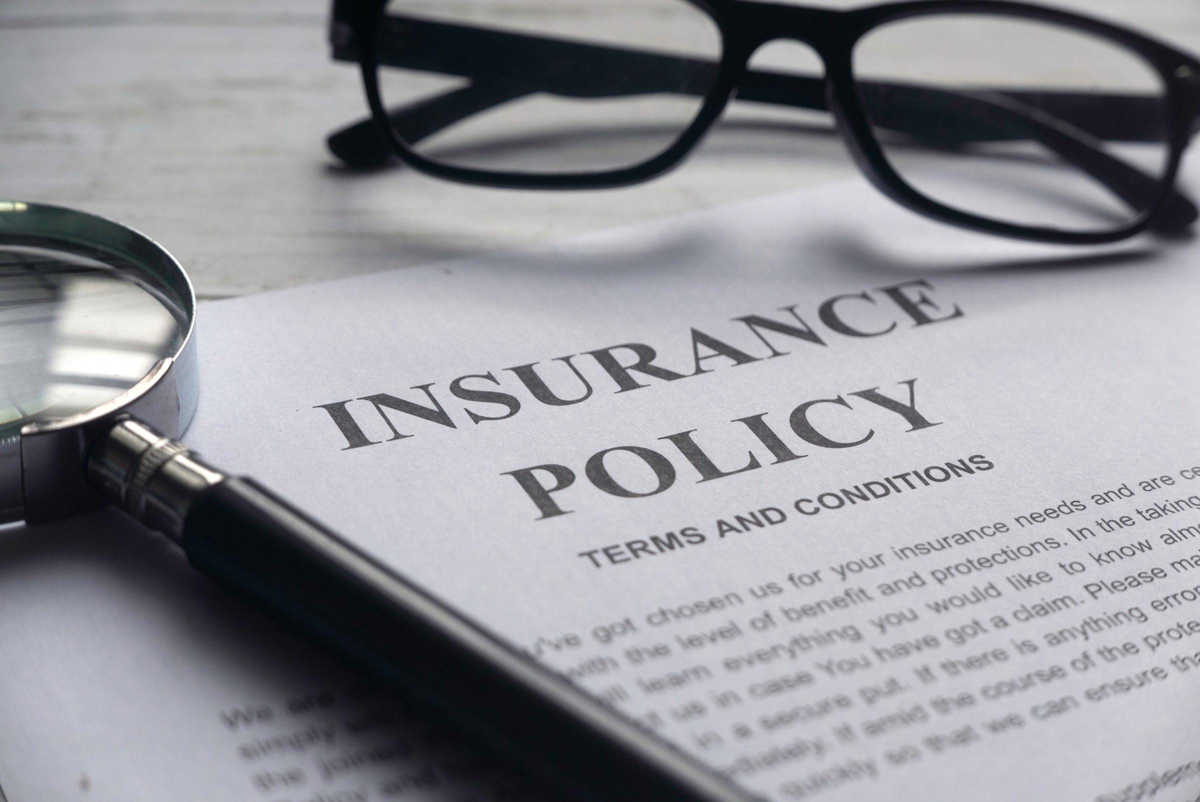 insurance policy UMZDCHA