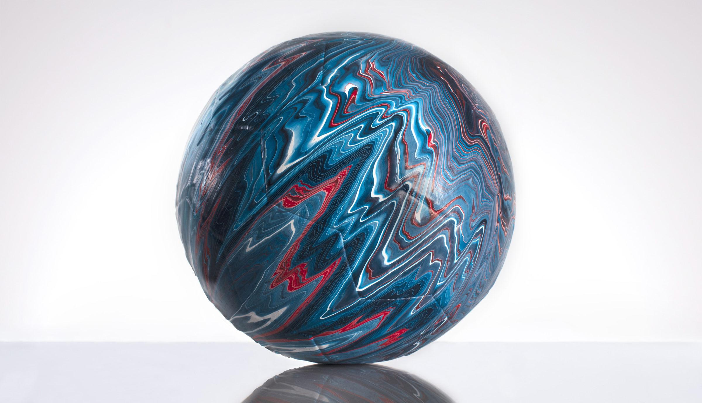 Craig Black x The Fusion Series Footballs Acrylic Fusion Football Art Installation 06 Scotland