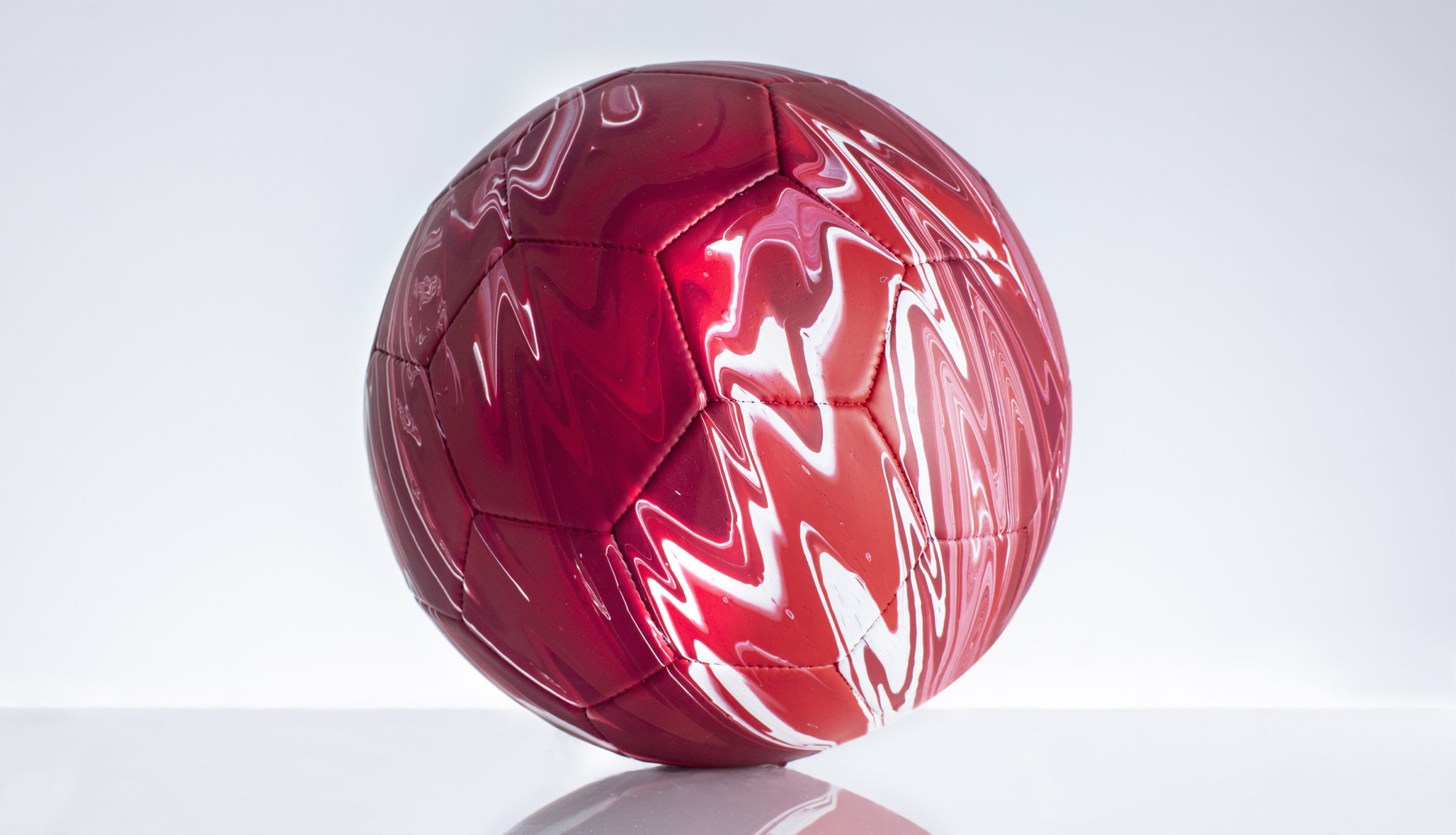 Craig Black x The Fusion Series Footballs Acrylic Fusion Football Art Installation 08 Denmark