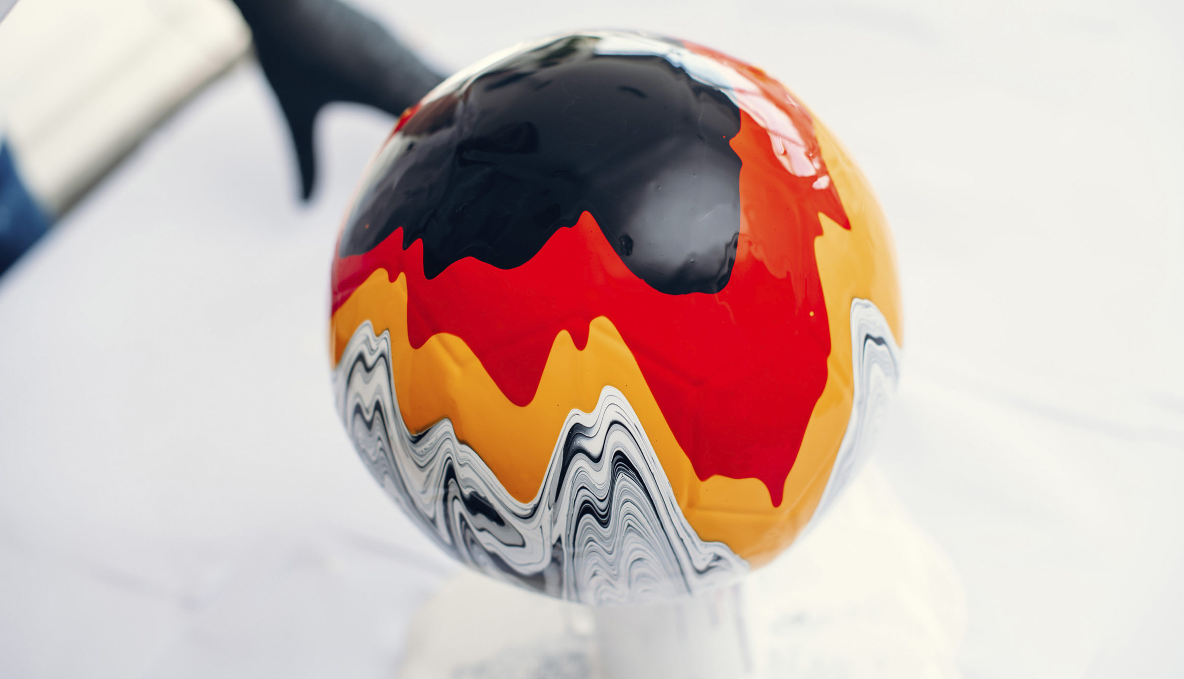 Craig Black x The Fusion Series Footballs Acrylic Fusion Football Art Installation 10 Germany