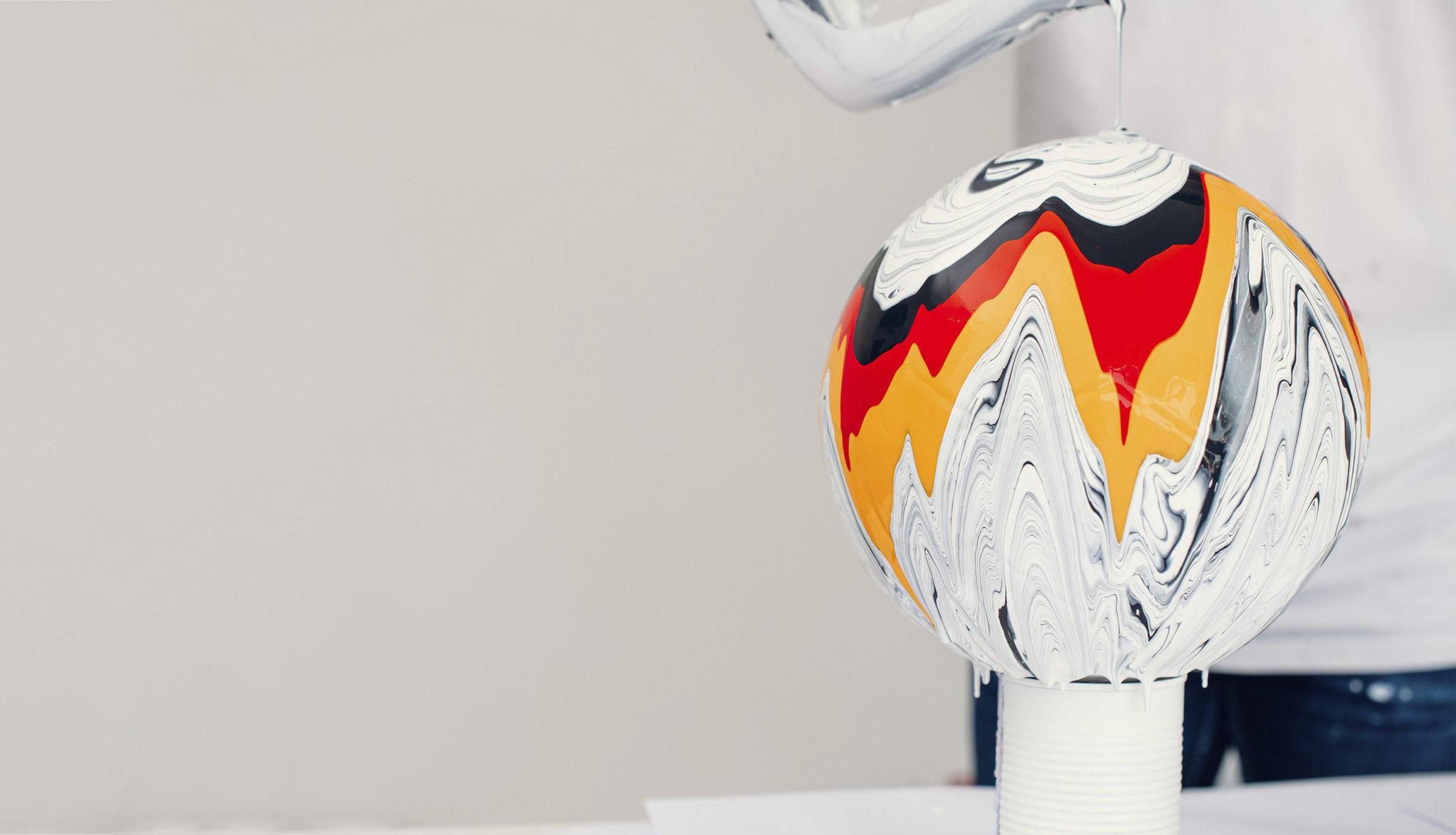 Craig Black x The Fusion Series Footballs Acrylic Fusion Football Art Installation 11 Germany