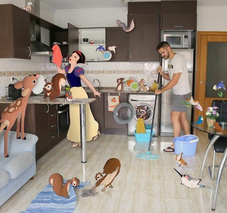 digital art disney characters samuel mb 20