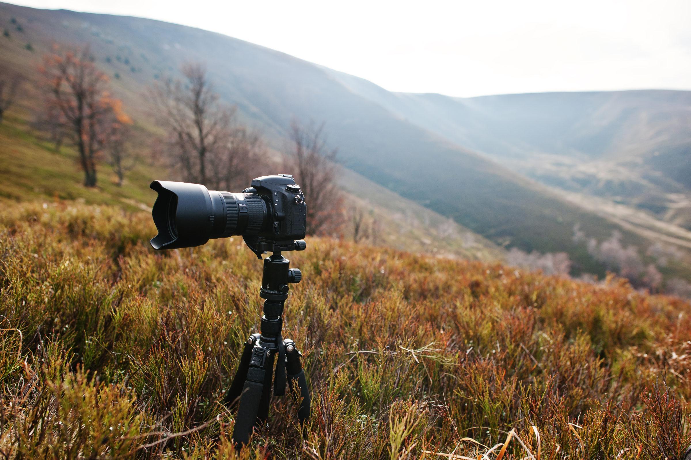 modern professional dslr camera on a tripod outdo 2021 04 25 23 43 33 utc