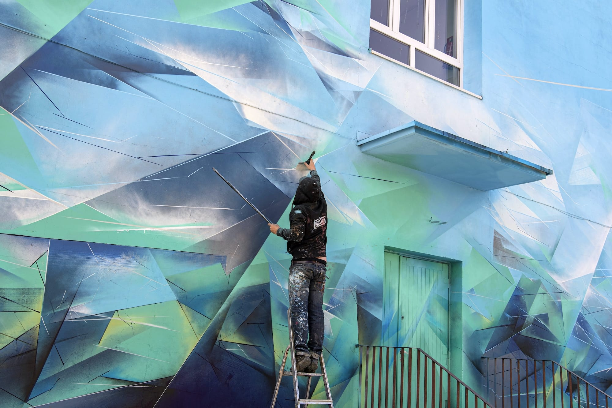 pener mirror land street art 1