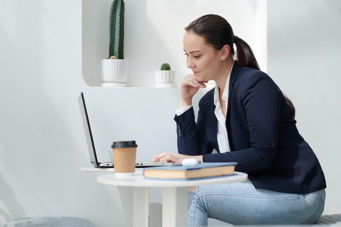 university student working on laptop 2021 04 23 00 40 35 utc