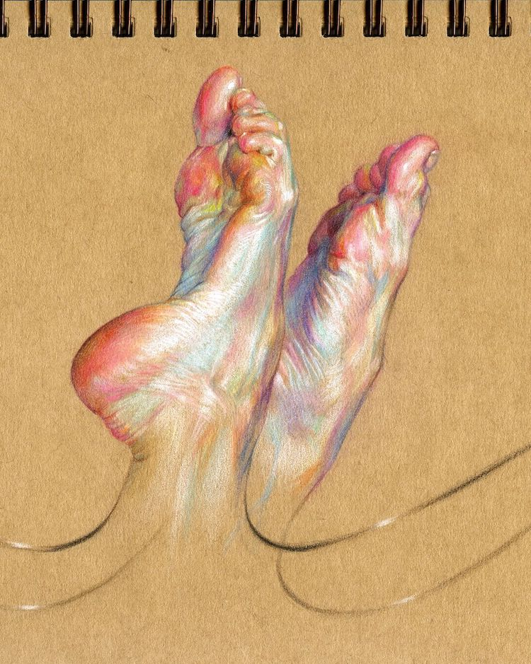 wanjin gim figurative drawings 1