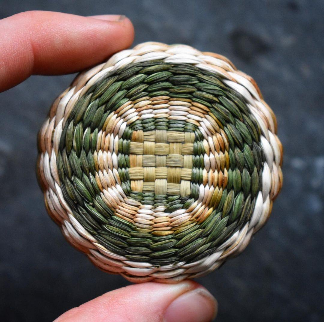 foraged fibers woven baskets 11