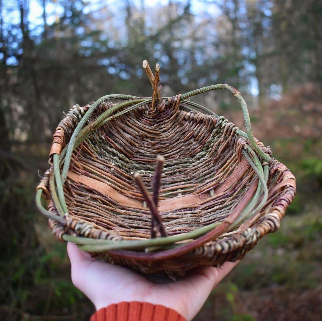 foraged fibers woven baskets 14