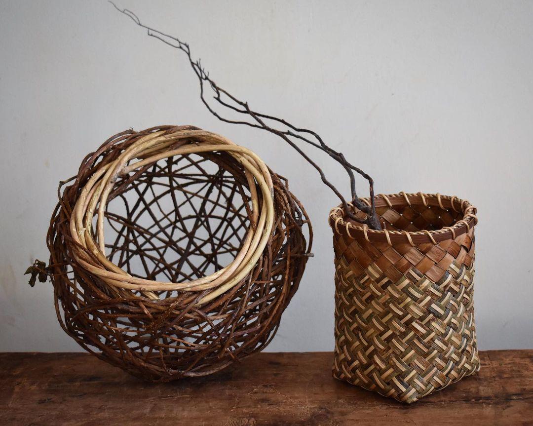 foraged fibers woven baskets 15