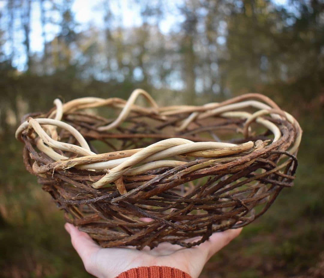 foraged fibers woven baskets 2