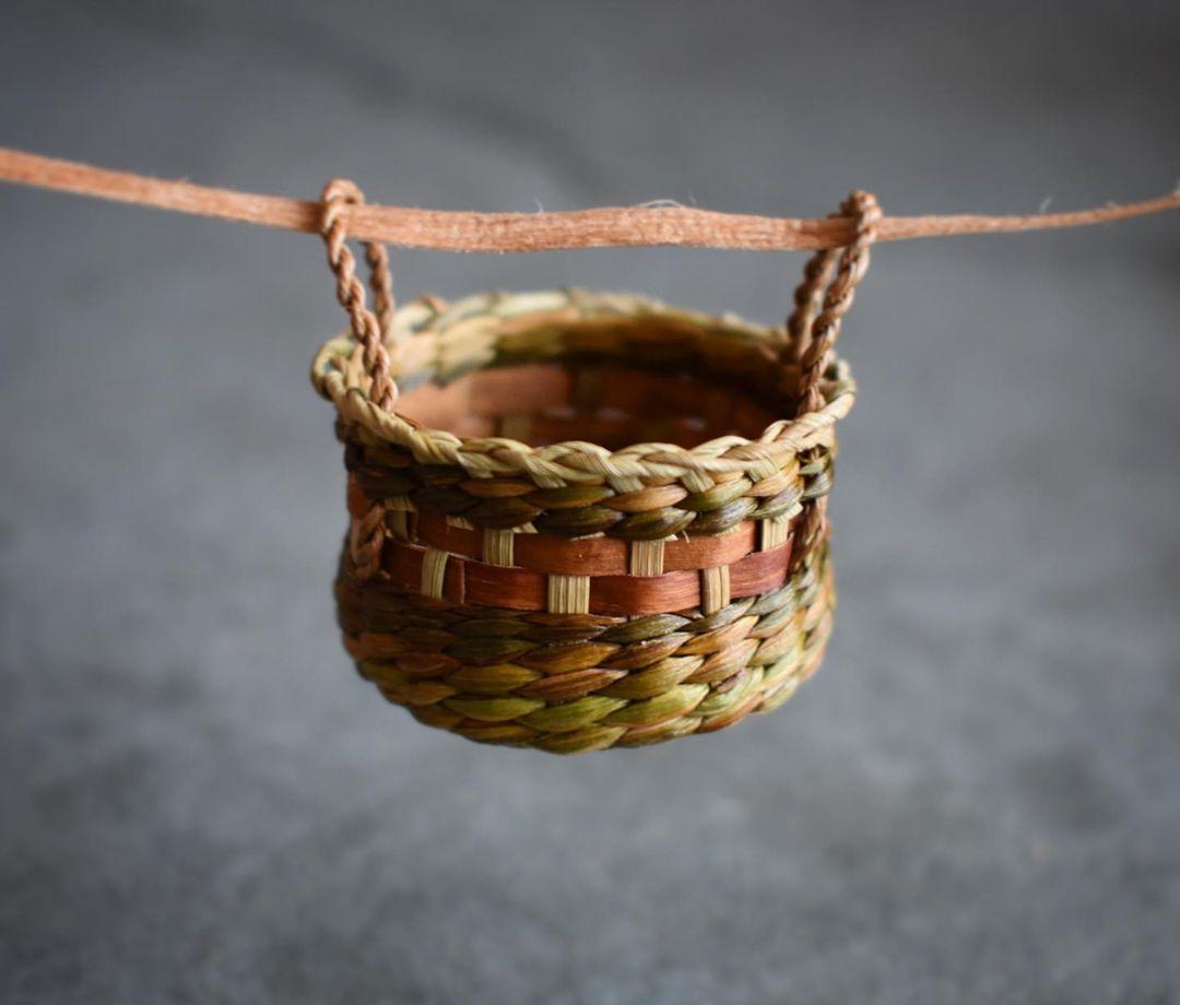 foraged fibers woven baskets 20
