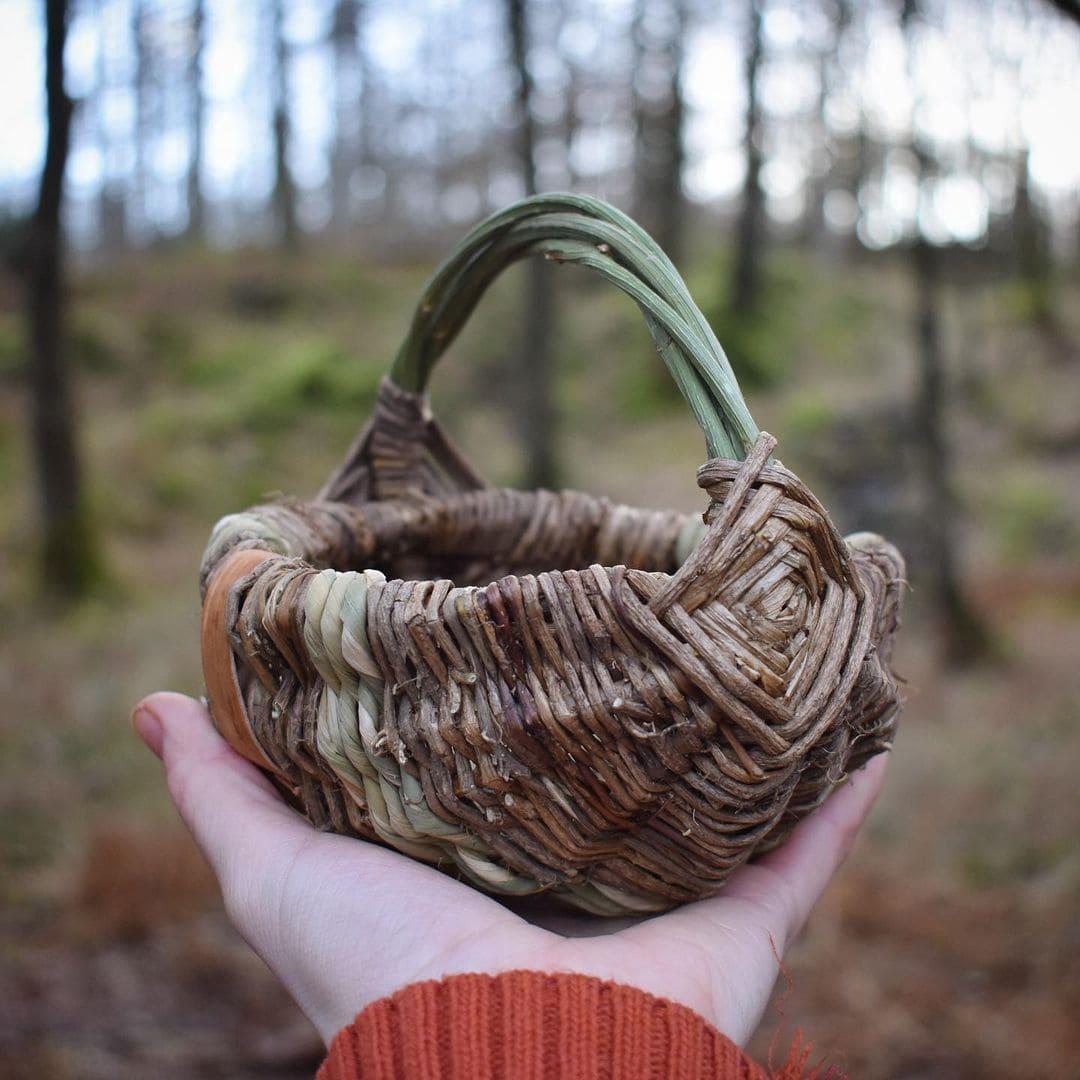 foraged fibers woven baskets 3