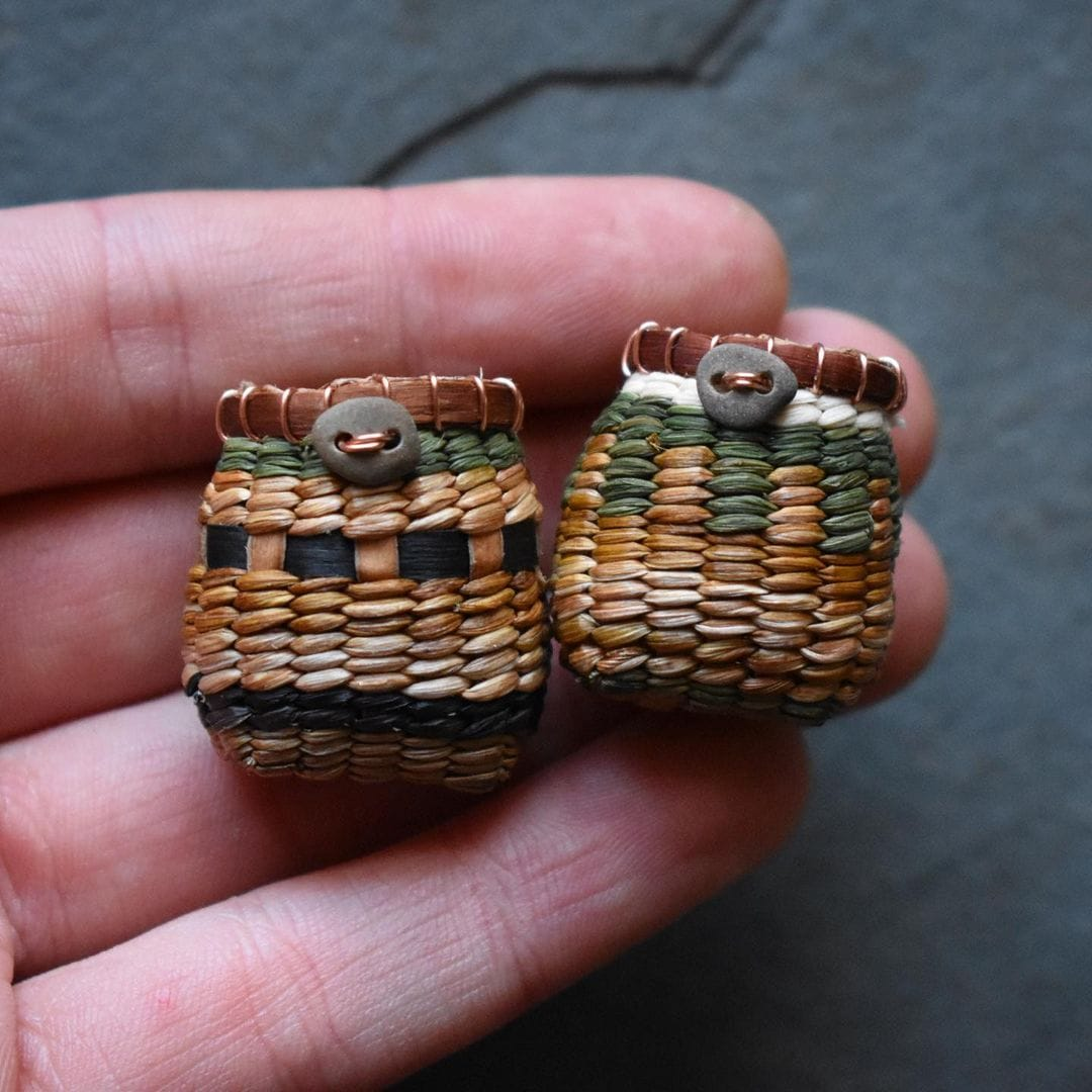 foraged fibers woven baskets 4