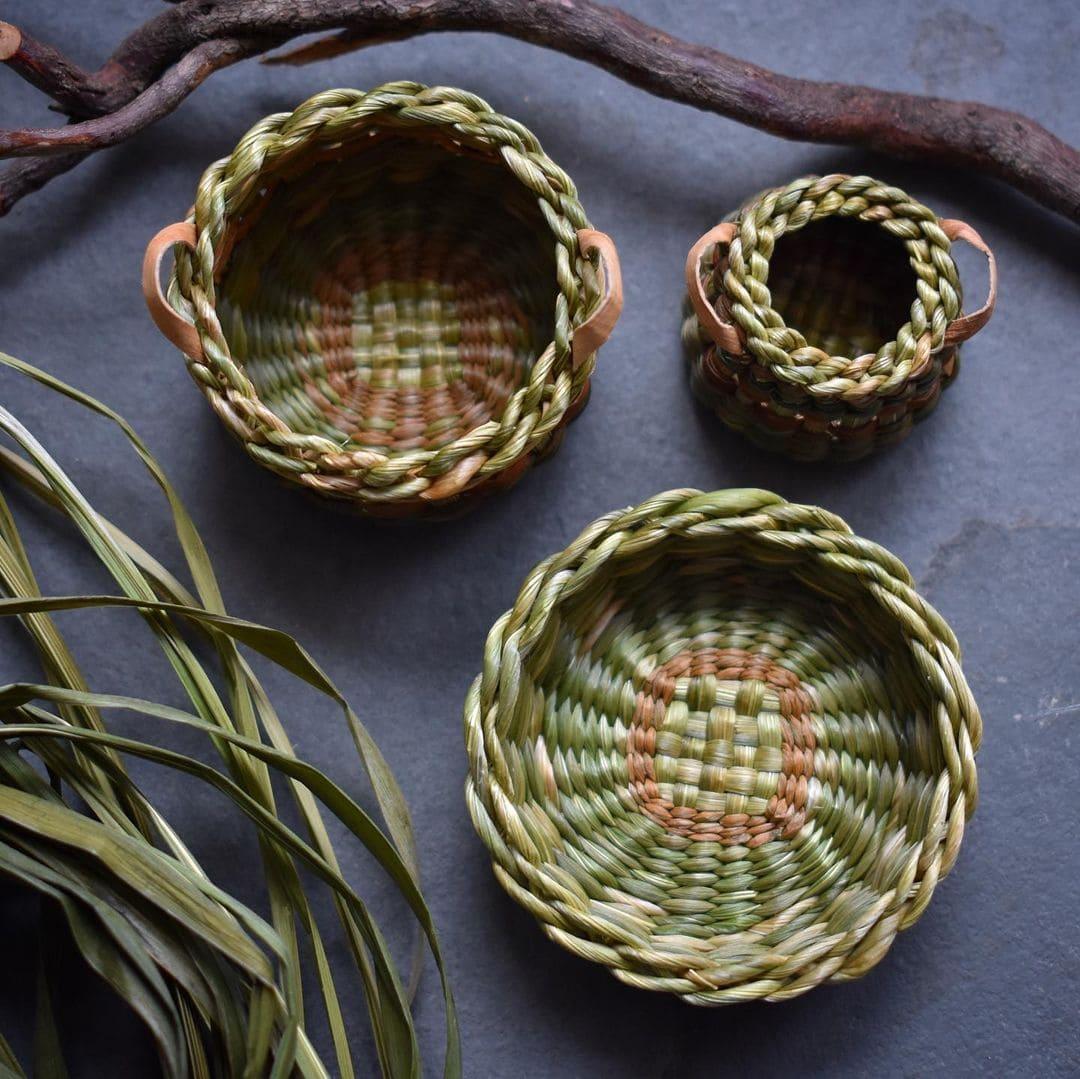 foraged fibers woven baskets 9
