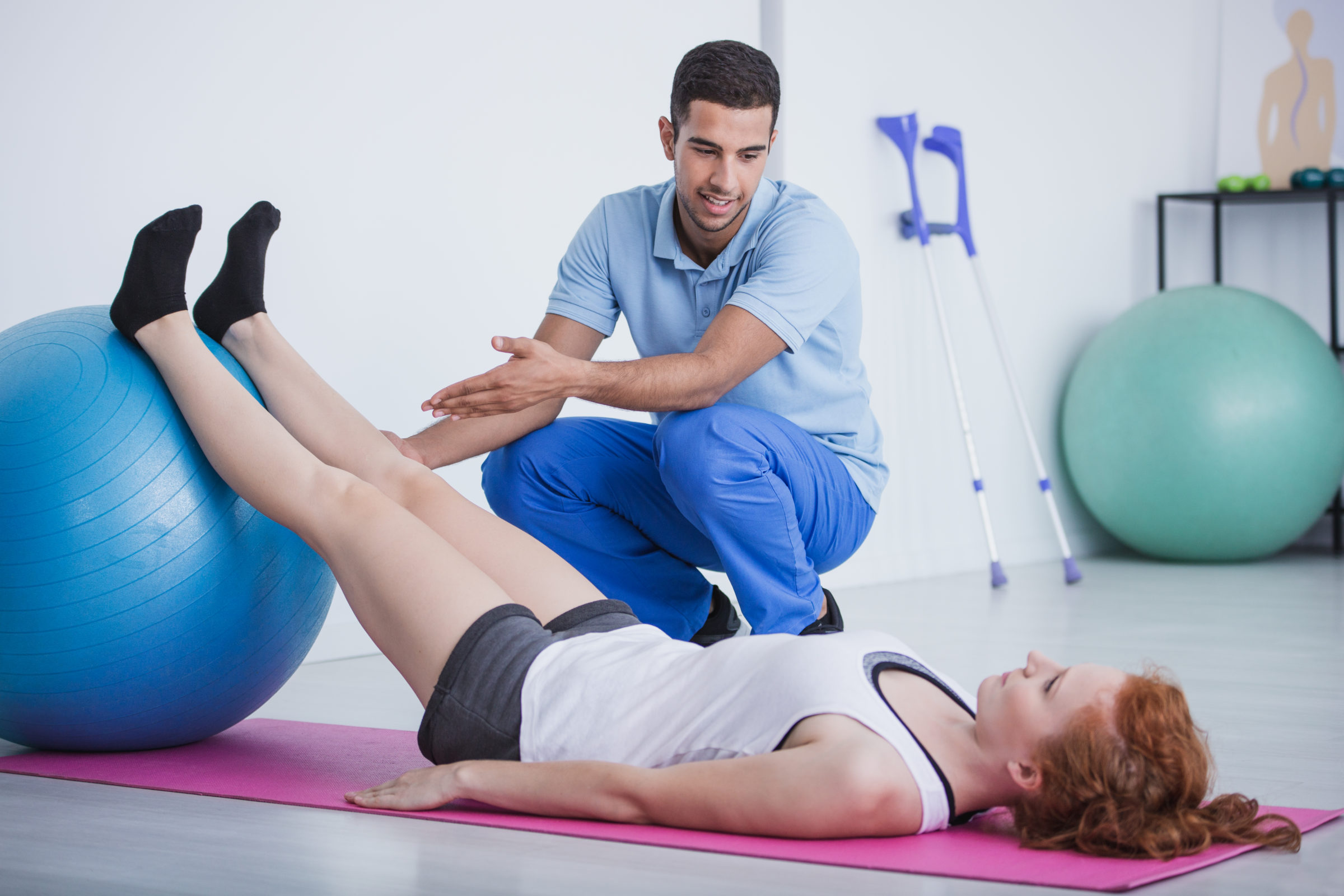 professional physiotherapist and sportswoman on ma GHKUF9T
