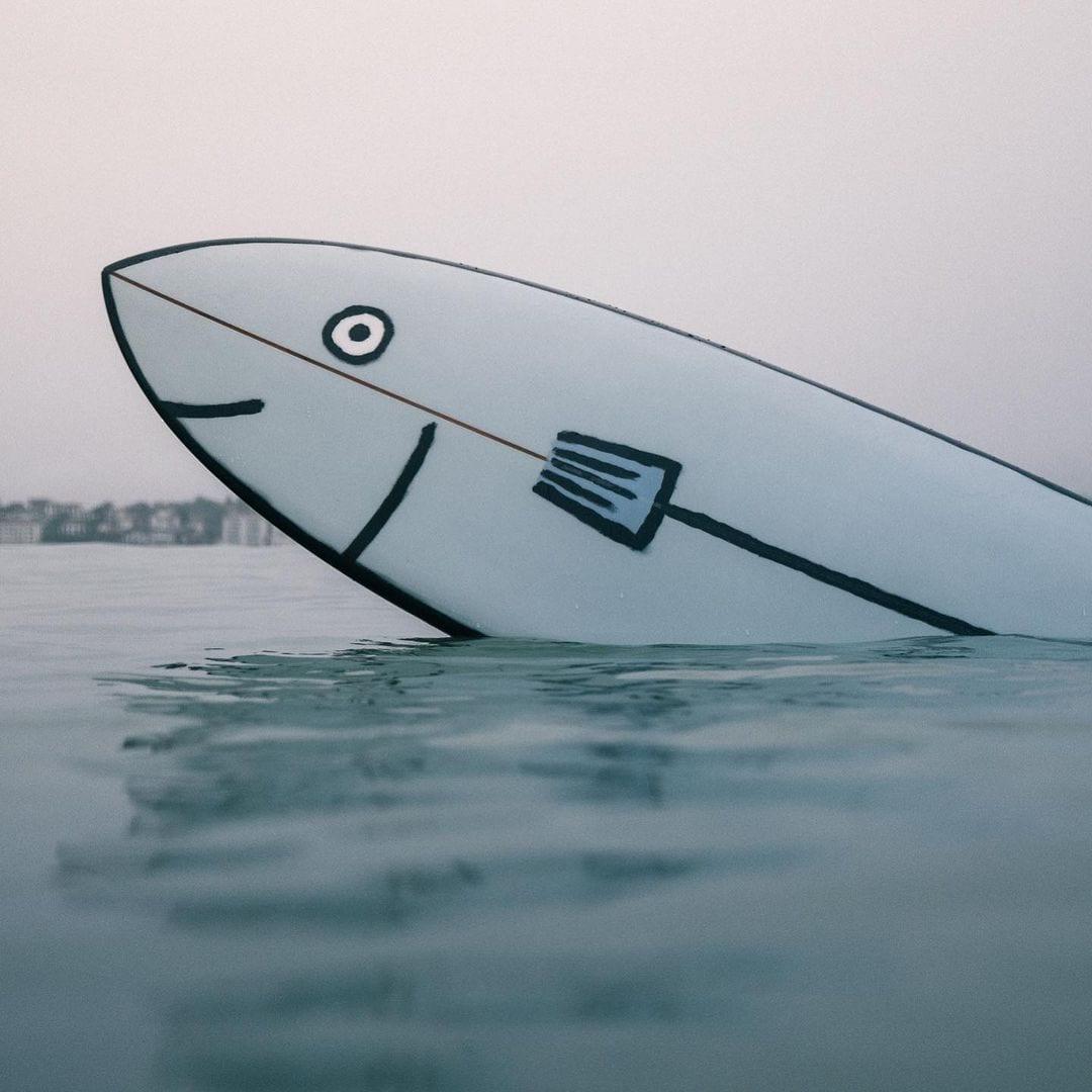 Jean Jullien surfboards 7
