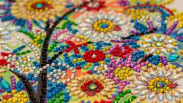 diamond painting embroidery craft RBJ8XVZ